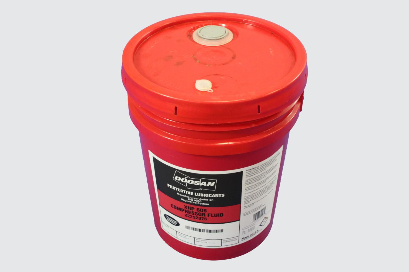 22252076-COMPRESSOR FLUID, XHP605 5 GAL BUCKET