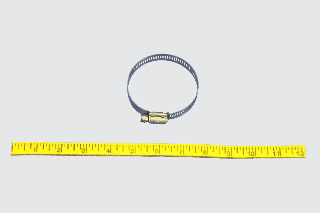 35221639-CLAMP, 2.00-2.75 ID WORM GEAR ZINC