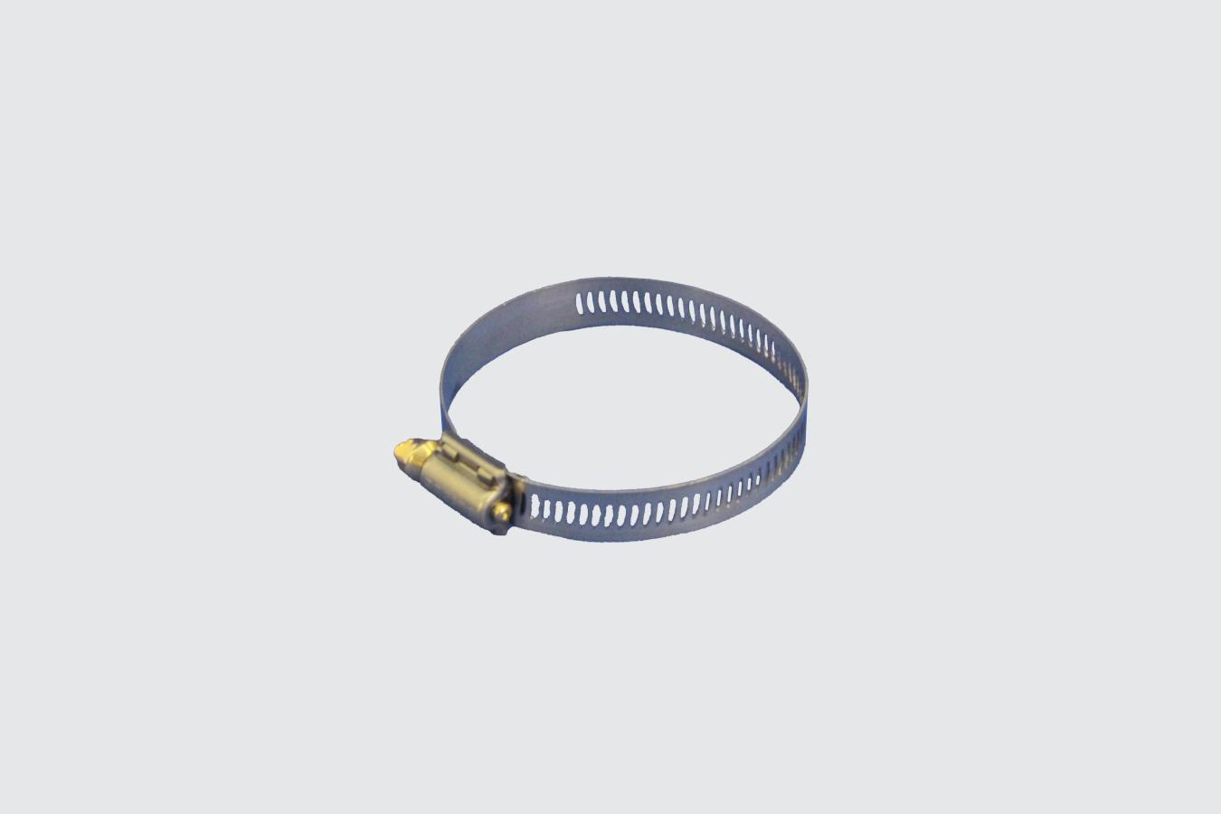35222017-CLAMP, 2.25-3.00 ID WORM GEAR ZINC