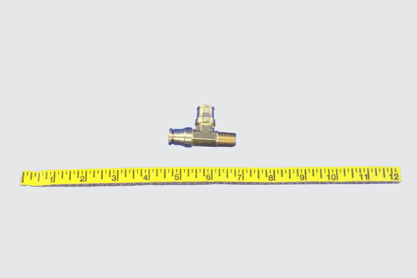 35369503-TEE, ML R 1/4NPTX3/8T