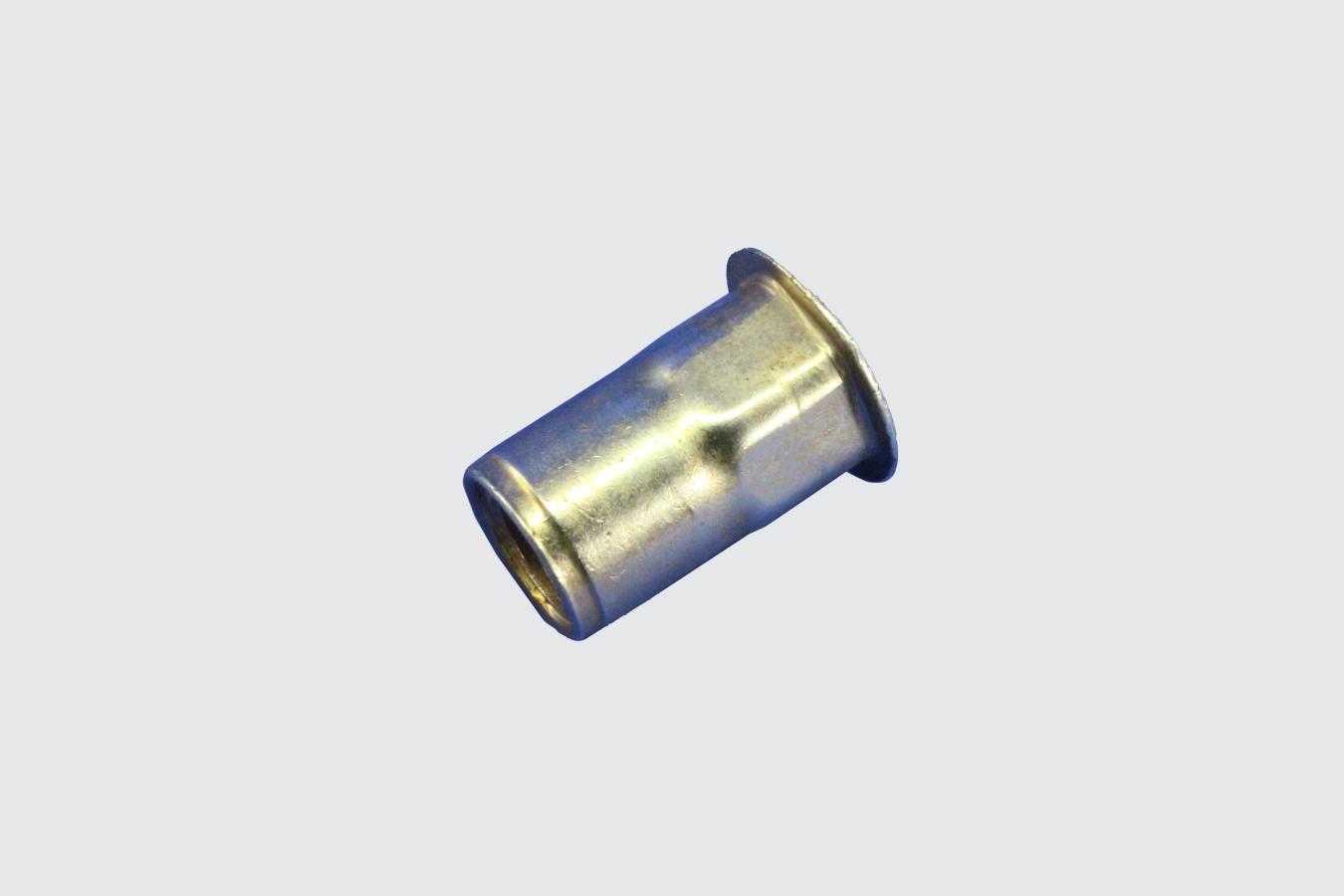36895746-NUTSERT, M8-1.25 HEX (14GA - 4GA) ZINC